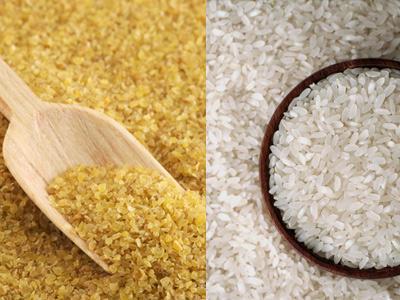 pirinç ve bulgur