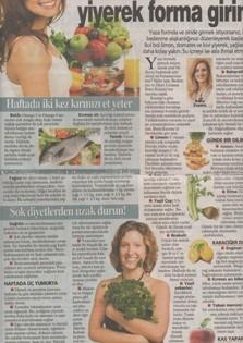 Bol Limonlu Salata ve Daha Çok Kreviz Yiyerek Forma Girin