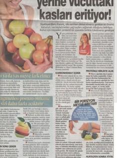 Meyve Diyeti Yağ Yerine Vucuttaki Kasları Erittiyor!