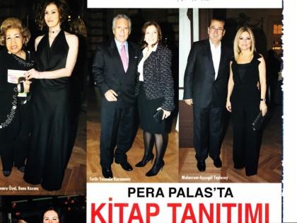 Pera Palas'ta Kitap Tanıtımı