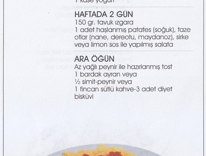 Diyet Değil, Sağlıklı Beslenme (sayfa 5)