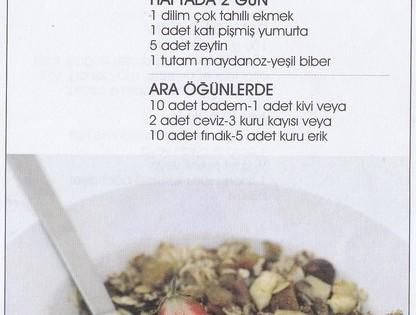 Diyet Değil, Sağlıklı Beslenme (sayfa 4)