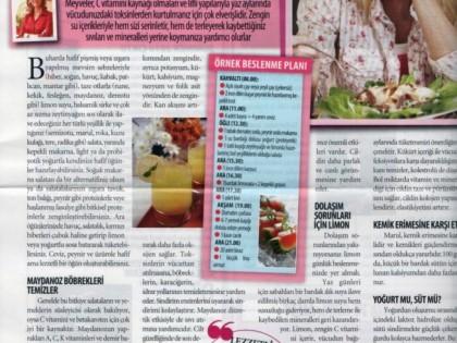 Sebze ve Meyvelerle Toksinlerden Arınabilirsiniz