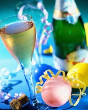 Yeni Yıl Partisi, Alkol ve Diyet