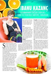 Sonbaharın Sağlık Deposu; Sarı ve Turuncu Meyve – Sebzeler