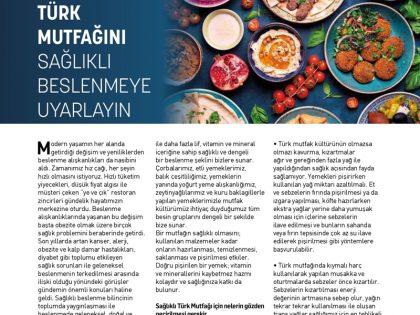 Uzman Görüşü:<br>Türk Mutfağını Sağlıklı Beslenmeye Uyarlayın